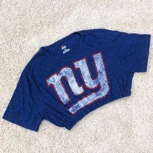 New York Giants crop top